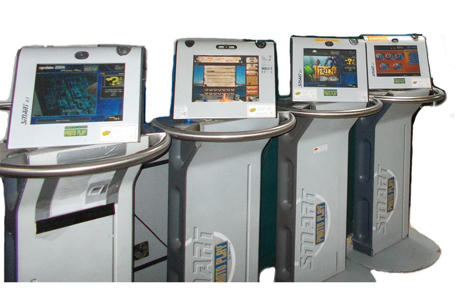 Arcade Touch usada